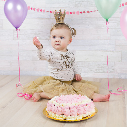 """Smash the cake"" med Stella"
